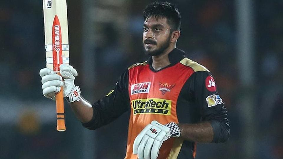 Vijay Shankar: Looking forward to being part of the Indian dressing room