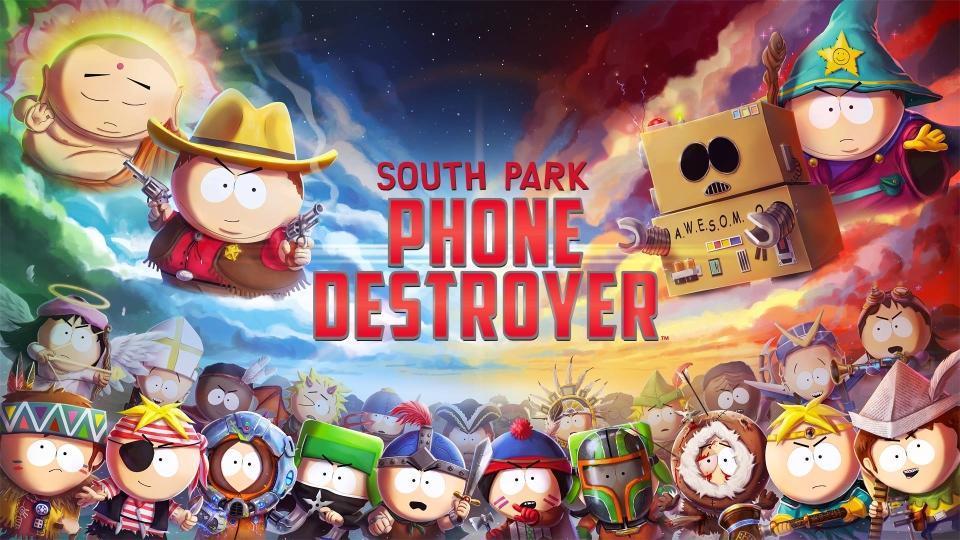 South Park,South Park Phone Destroyer,South Park Online