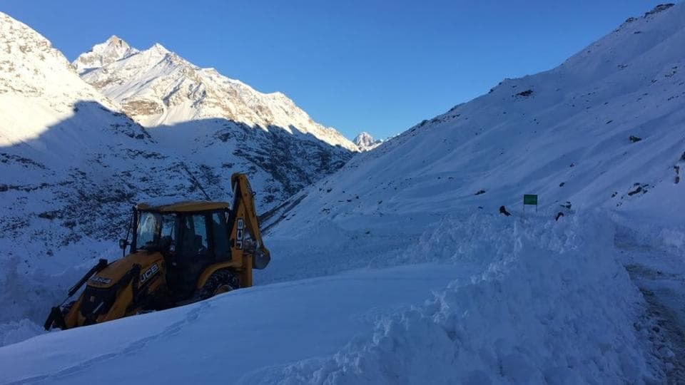 Snow,Rohtang Pass,order Road Organisation
