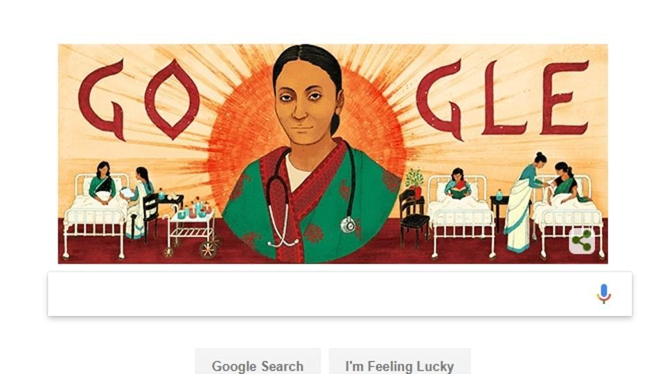 Rukhmabai Raut's 153rd birthday celebrated with a Google Doodle