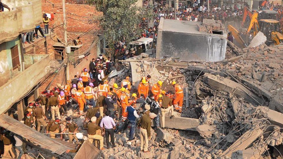 Ludhiana factory collapse,death factory,13 dead