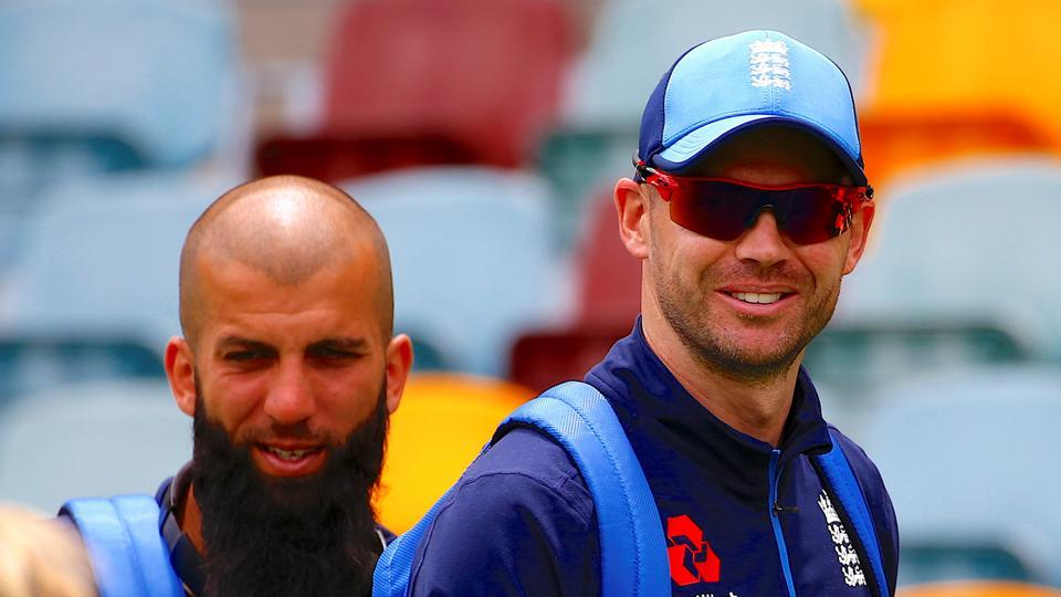 Moeen Ali and James Anderson will be two crucial England players in the Ashes. (REUTERS)