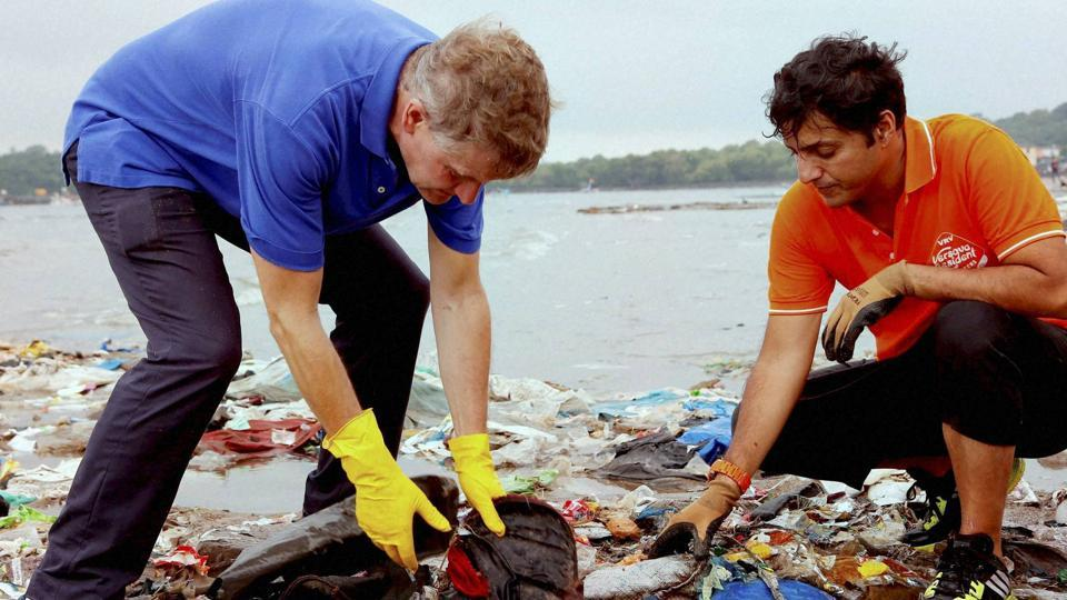 Mumbai,Versova beach clean-up,PM Modi
