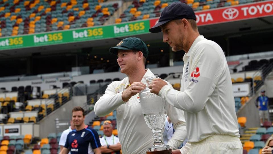 Australia skipper Steve Smith (L) and England captain Joe Root would hope to win their first Ashes as captains. (AFP)