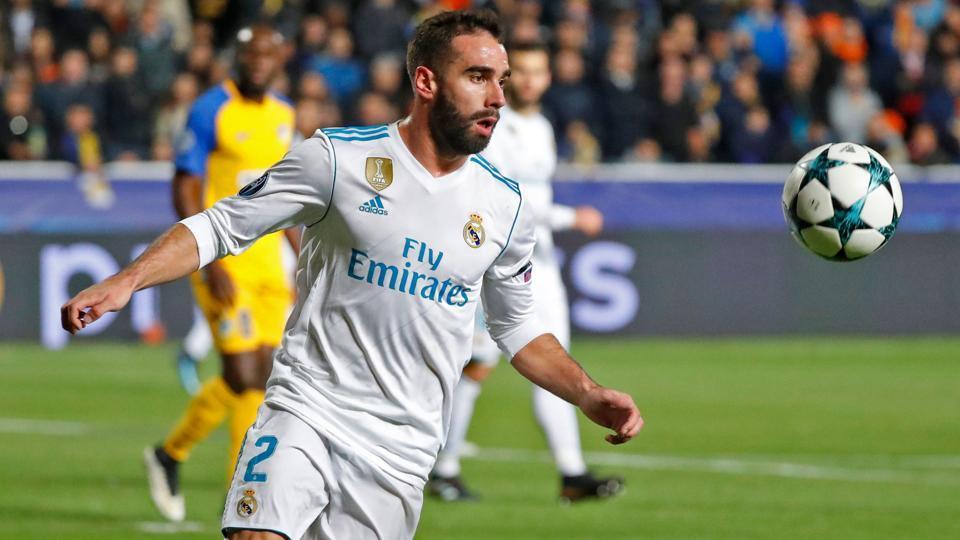 UEFA Champions League,Dani Carvajal,Real Madrid