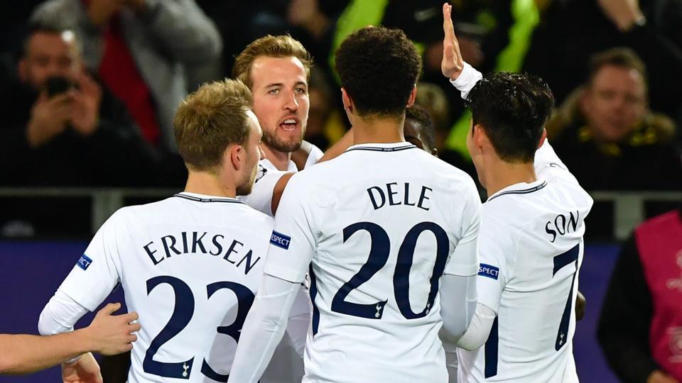 UEFA Champions League,Tottenham Hotspur,Borussia Dortmund