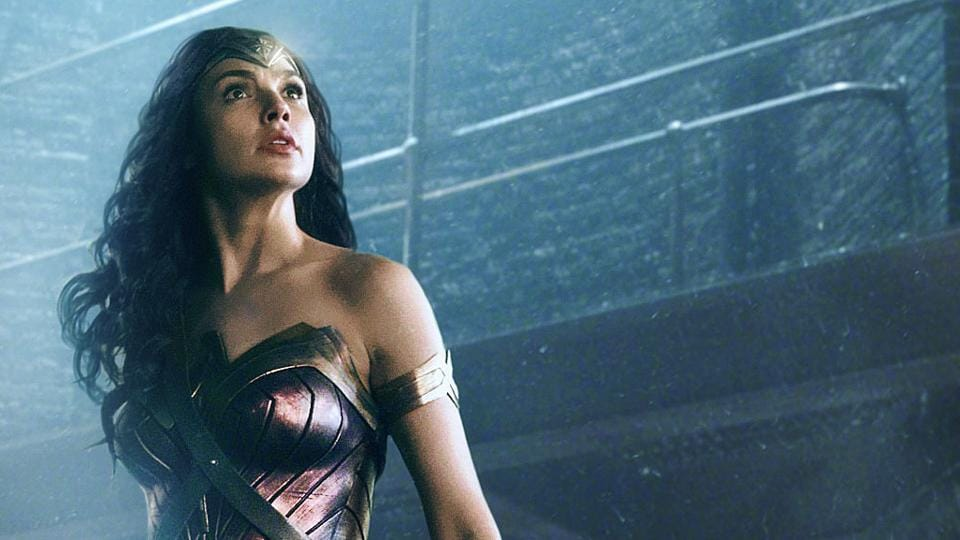This image released by Warner Bros. Pictures shows Gal Gadot in a scene from Justice League.