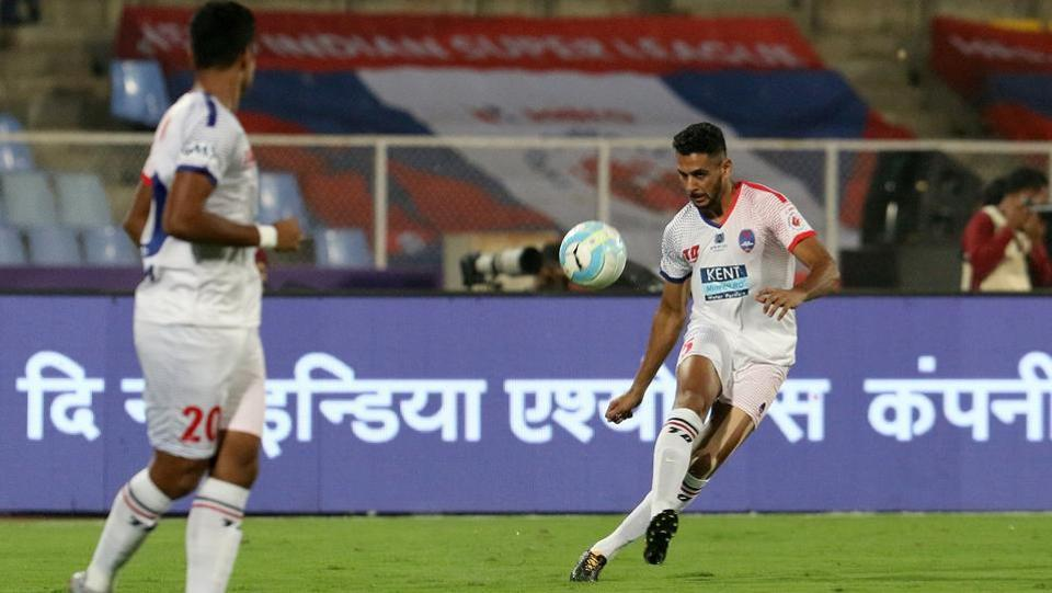 Lallianzuala Chhangte and Matias Mirabaje also scored to give Delhi 3-0 lead by the 65th minute. (ISL / SPORTZPICS)
