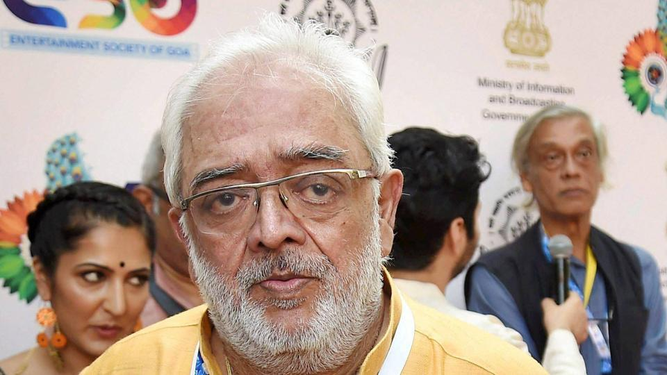 Panaji : Rahul Rawail the newly appointed Chairman of the Indian Panorama arrives for the screening of Pihu, the opening film of the feature film section of Indian Panorama of the 48th International Film Festival of India.(PTI)