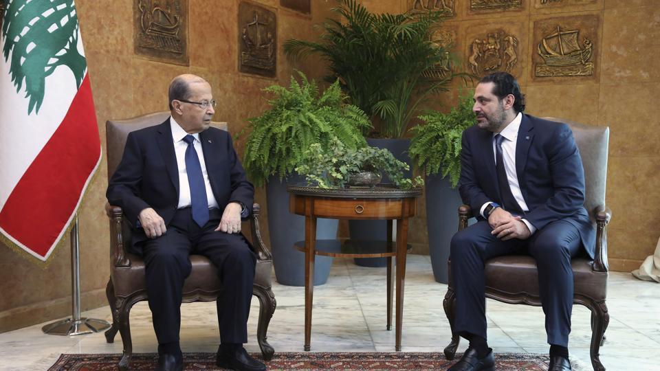 Lebanon,Saad Hariri,Michel Aoun