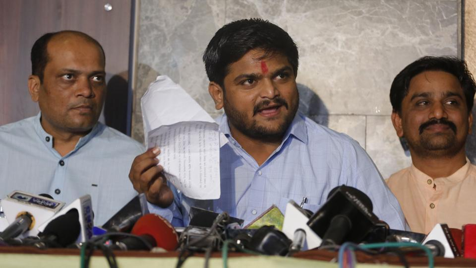 Congress to give reservation to Patidars: Hardik Patel