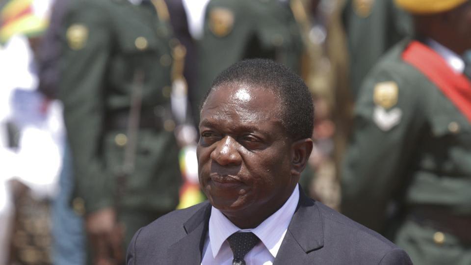 Emmerson Mnangagwa,Robert Mugabe,Zimbabwe