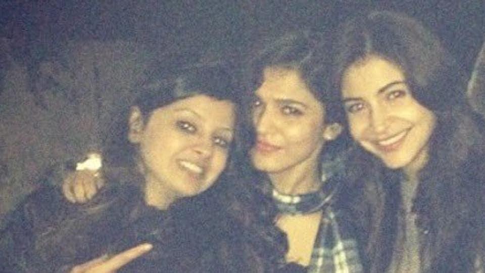 Anushka Sharma,MS Dhoni,Sakshi Dhoni
