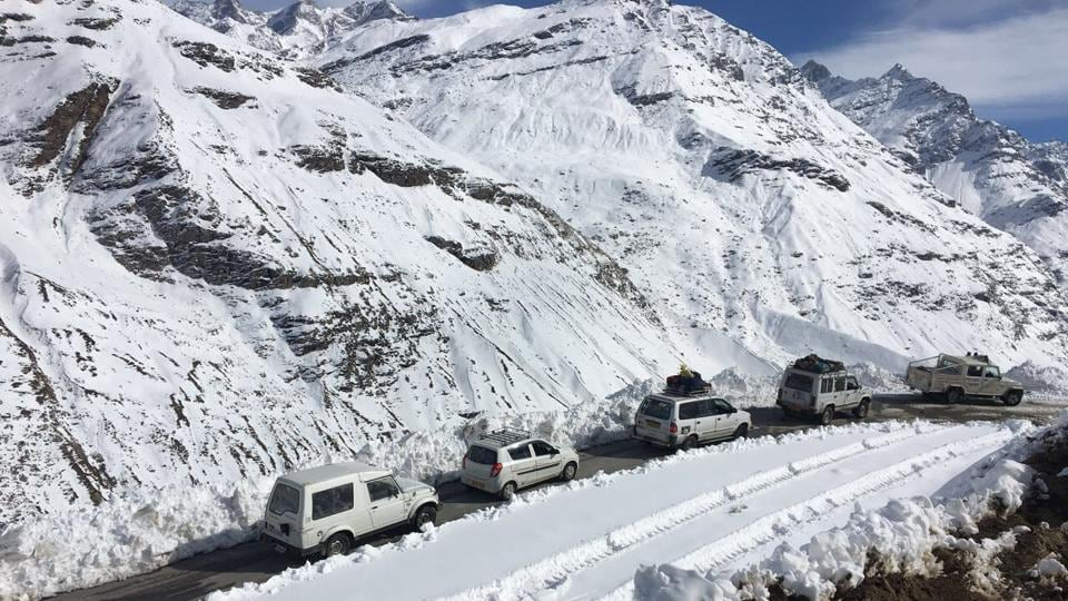Rohtang Pass,Manali,Border Road Organisation