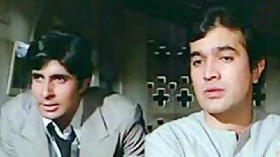Amitabh Bachchan,Namak Haram,Rajesh Khanna
