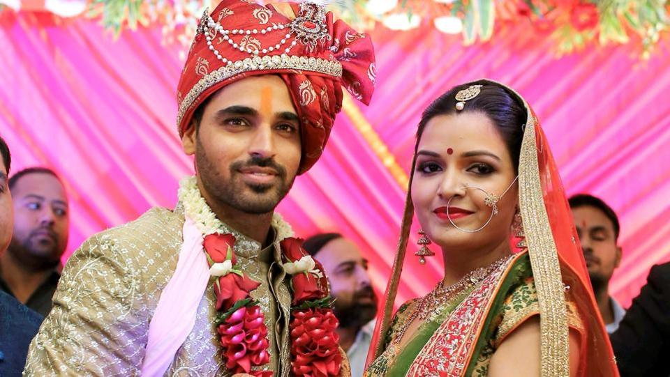 The couple had got engaged in a private ceremony on October 4. (PTI)