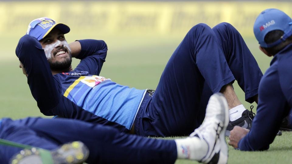 Sri Lanka cricket captain Dinesh Chandimal will look to his side's performances at Eden Gardens as inspiration for this game.   (AP)