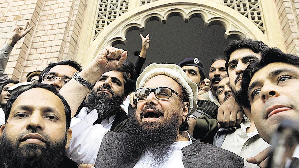 Freed terror mastermind Hafiz Saeed rails against India: Nawaz Sharif