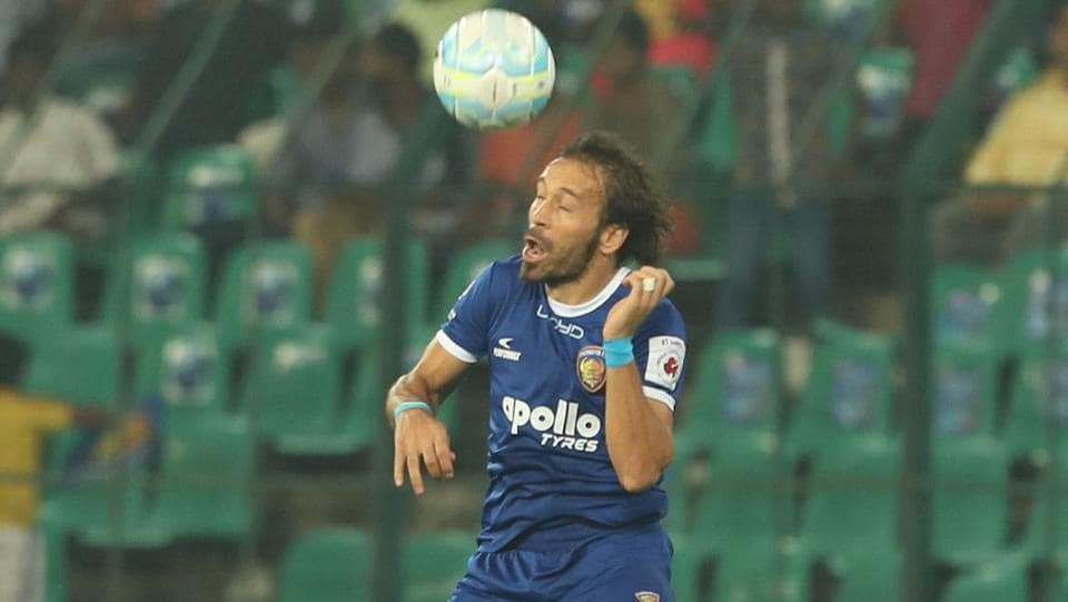 Chennaiyin FC started the game strongly.  (ISL / SPORTZPICS)