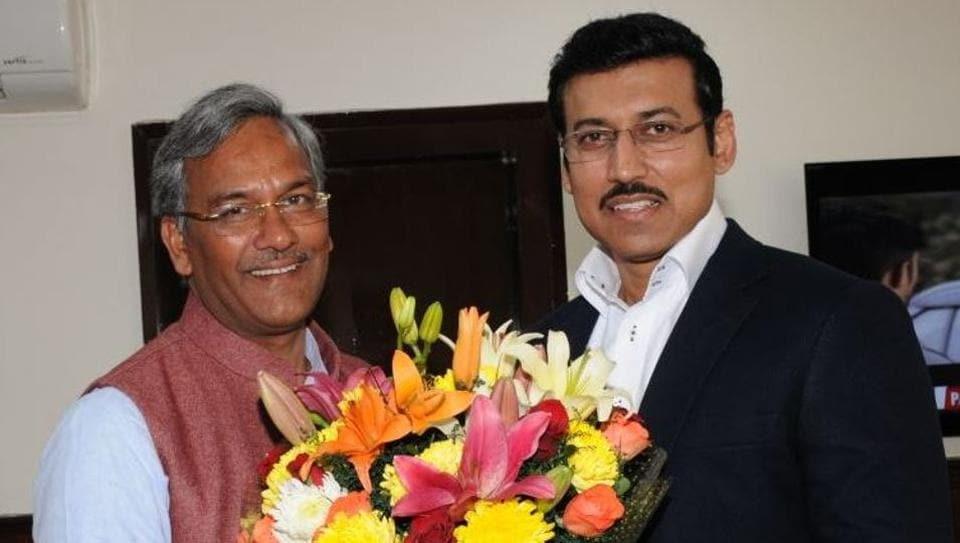Uttarakhand,TS Rawat,Union ministers