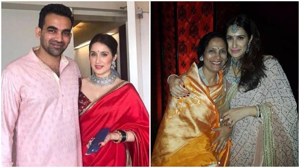 Actor Sagarika Ghatge will win you over with her modest and effortlessly cool wedding style.