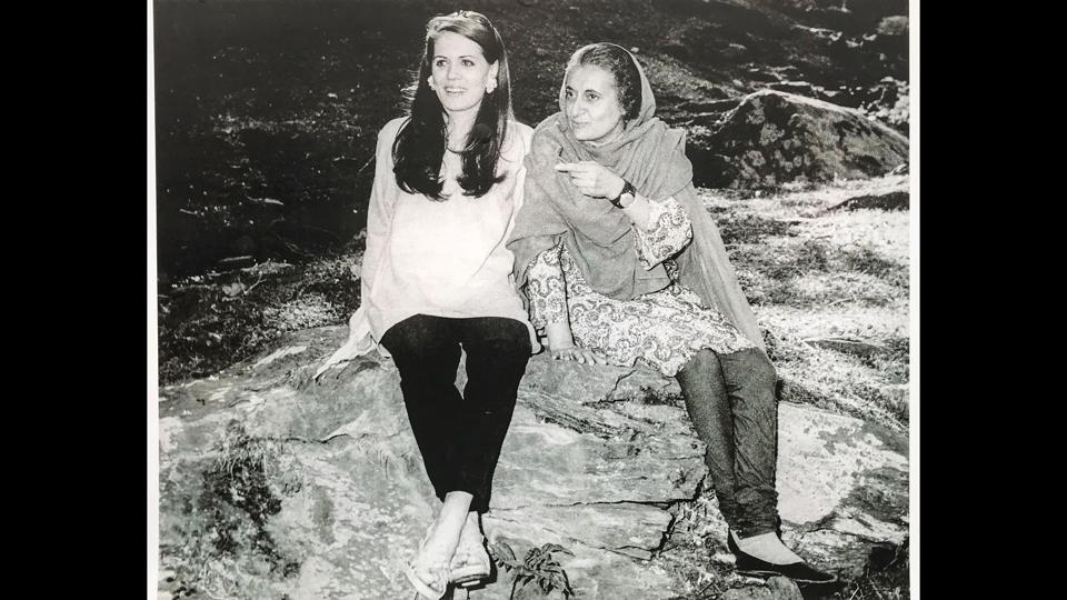 Sonia Gandhi (left) with Indira Gandhi, while on holiday in Shimla. (Indira Gandhi Memorial Museum Archives)