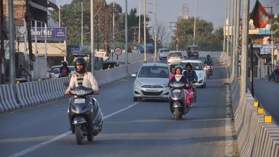 Road safety,Road Safety Week,Balliwala flyover