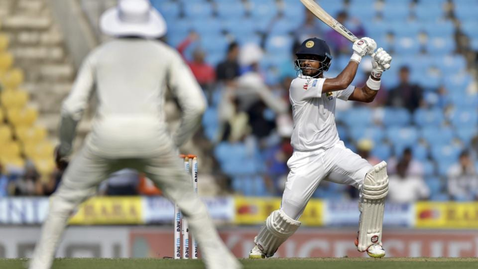 Sri Lanka captain Dinesh Chandimal also scored a fifty to steady their innings. (AP)