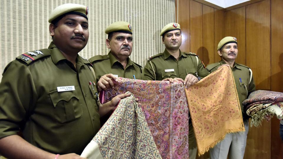 Stolen antique shawls,Crafts museum,Delhi Police