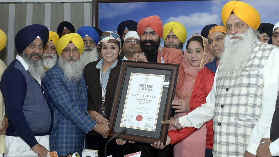 Golden Temple,World Book of Records,London
