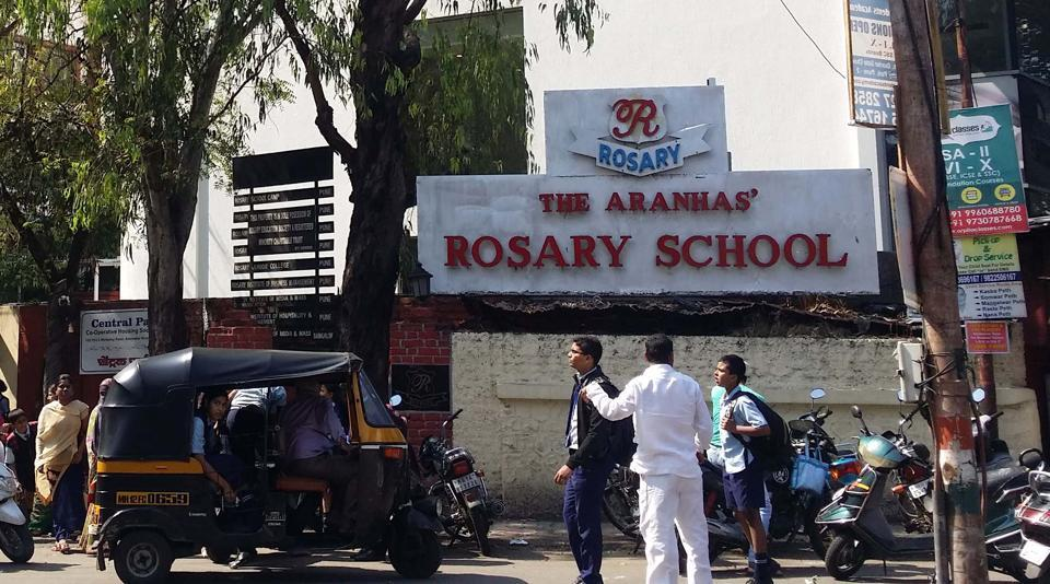 rosary school,camp,pune