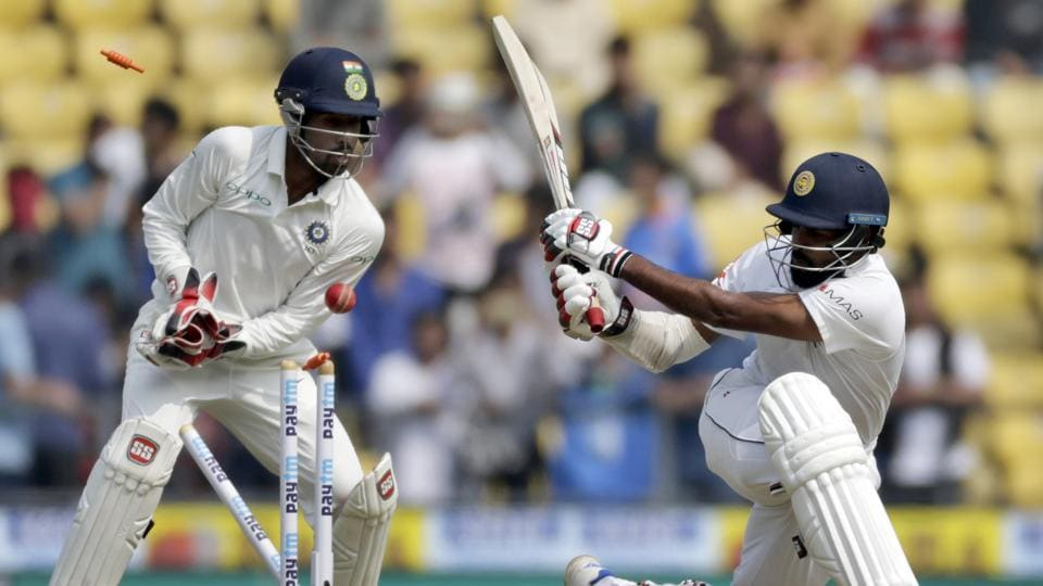 Lahiru Thirimane also departed early to leave Sri Lanka struggling in the first session. (AP)