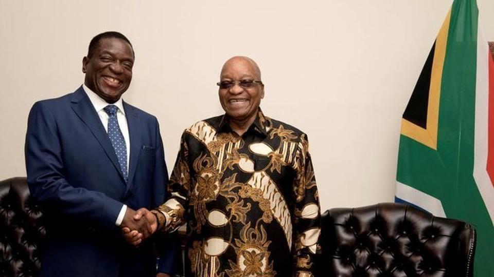 Zimbabweemmerson Mnangagwarobert Mugabe
