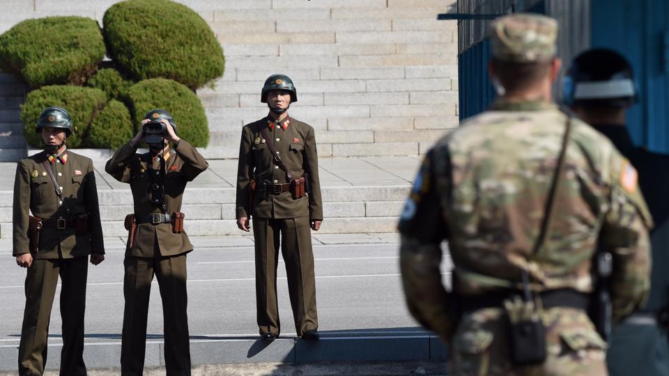 North Korea,South Korea,Joint Security Area