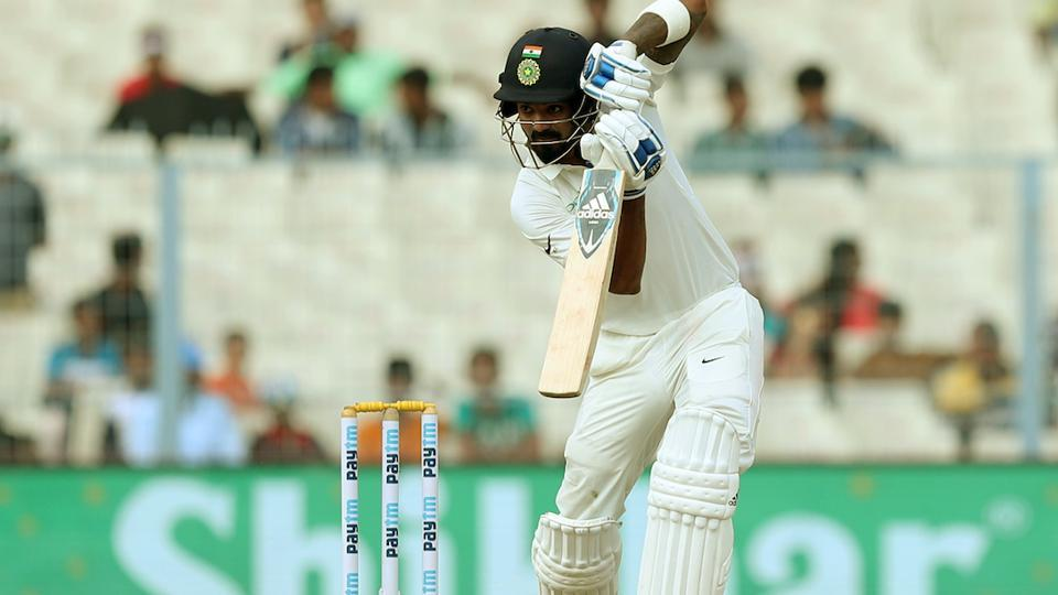 KL Rahul was the only casualty for India as he was dismissed by Lahiru Gamage. (BCCI)