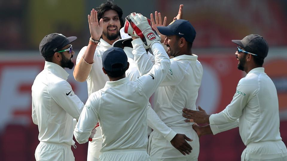 Ishant Sharma provided the early breakthrough by dismissing opener Sadeera Samarawickrama early. (BCCI)