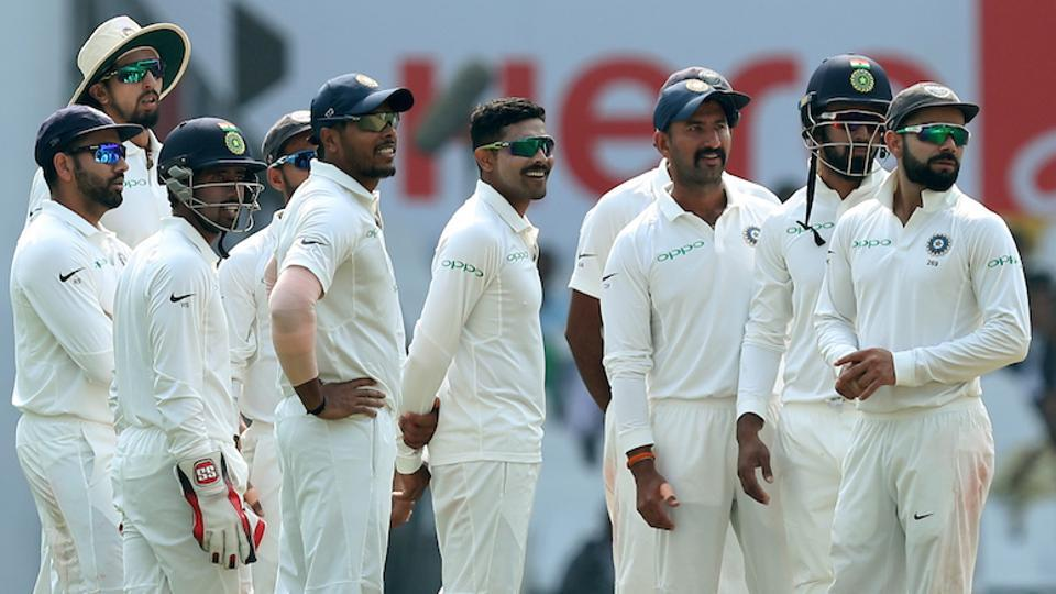 Ravindra Jadeja produced a good performance by taking three important wickets. (BCCI)
