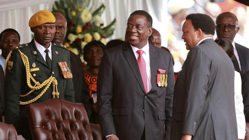 Emmerson Mnangagwa,Zimbabwe,Zimbabwe President