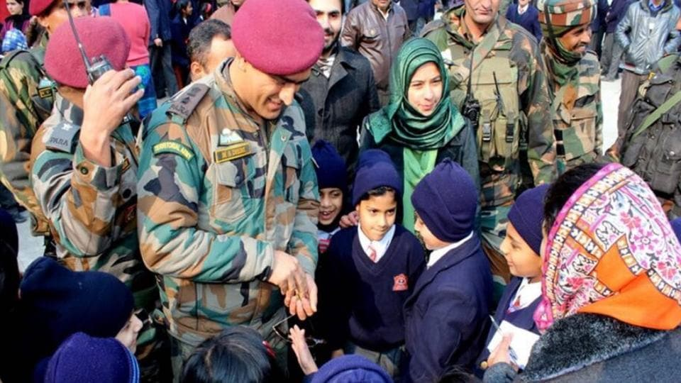 MS Dhoni,MS Dhoni army,MS Dhoni in Kashmir
