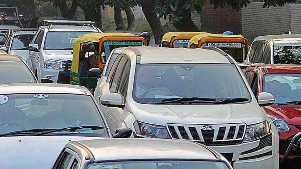 Chandigarh,draft parking policy,road tax