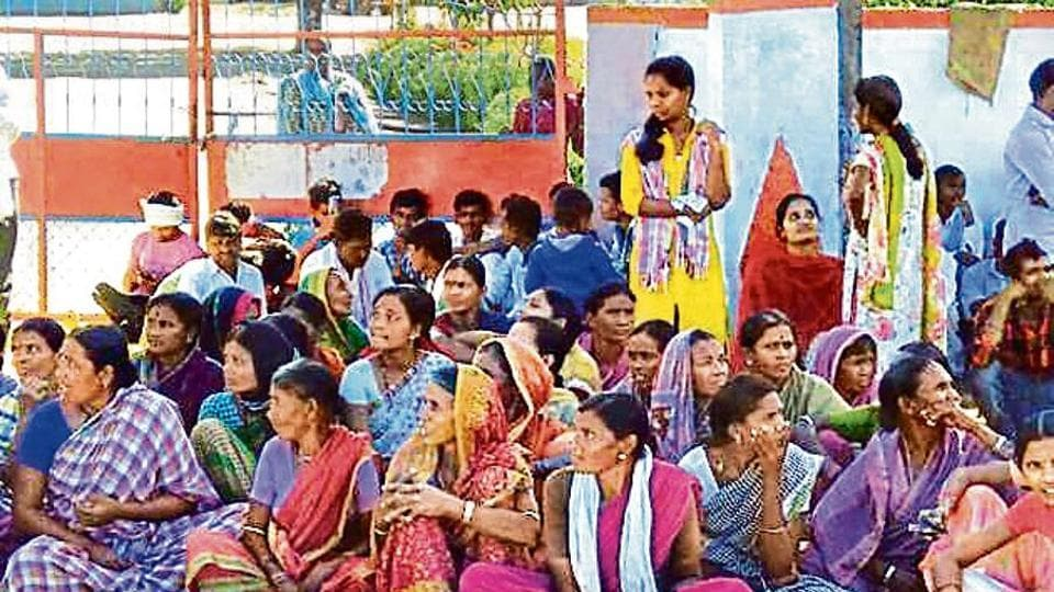 Lambada teachers were prevented from entering tribal welfare schools in Telangana recently.