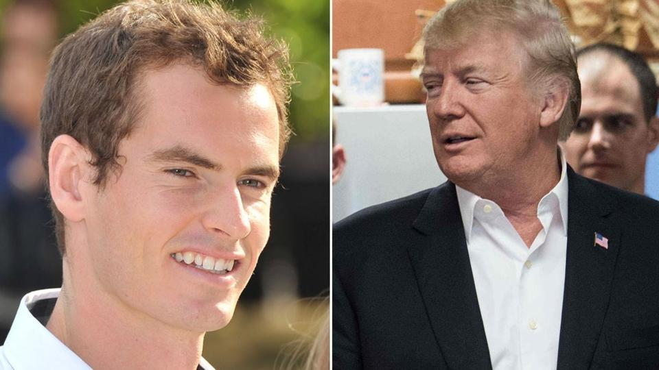 Time off the tennis court has evidently sharpened Andy Murray's Twitter fingers, after a hilariously pointed parody of Donald Trump.