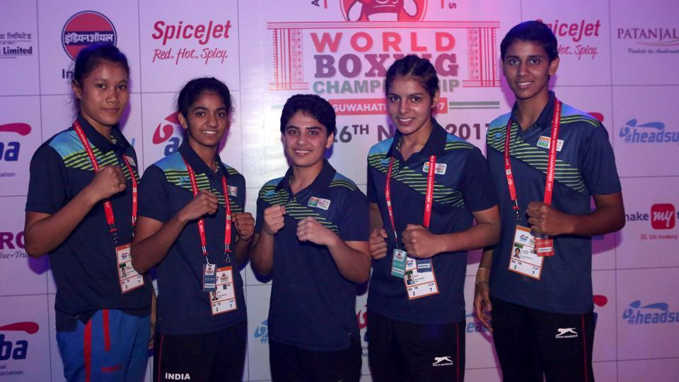 India are assured of at least five silver medals at the AIBA Women's Youth World Boxing Championships.