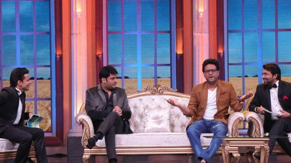 Kapil Sharma joins his comedian friends Chandan Prabhakar and Rajiv Thakur for a special TV show, Oye Firangi.