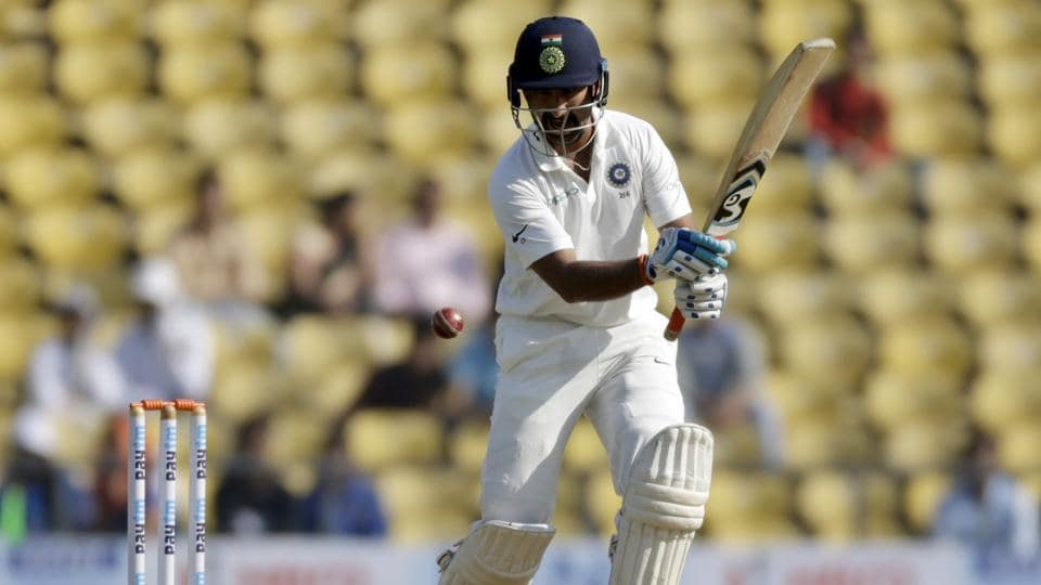Cheteshwar Pujara also scored a patient century, supporting Vijay from the other end.  (AP)