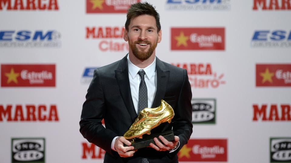 Lionel Messi's fourth European Golden Shoe awards proves the Barcelona frontman still has much to offer.  (AFP)