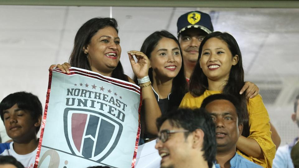 Some NorthEast United FC female fans were subject to racial harassment during an Indian Super League (ISL) match against Chennaiyin FC.