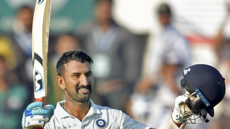 But Cheteshwar Pujara soldiered on and scored a well-deserved century.  (PTI)