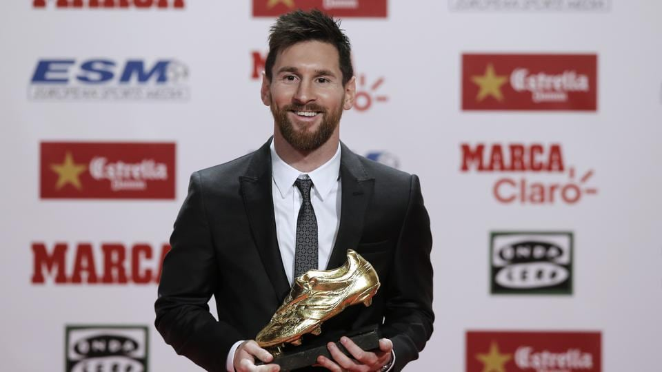 Lionel Messi,FC Barcelona,European Golden Shoe