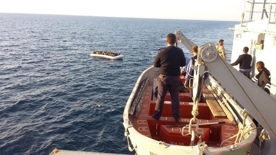 Libya migrants,Libya boat sink,Migrant crisis